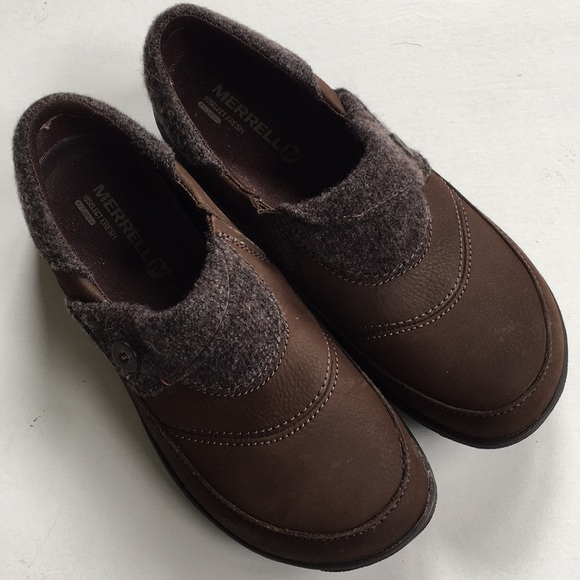 52942c09aa3c5 Merrell Shoes | Like New Leather | Poshmark